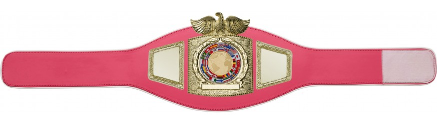 CHAMPIONSHIP BELT PROEAGLE/G/FLAG - AVAILABLE IN 6+ COLOURS