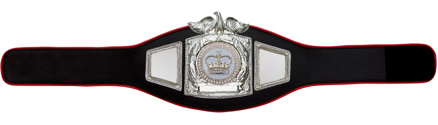 CHAMPIONSHIP BELT PROEAGLE/S/WHTGEM - AVAILABLE IN 6+ COLOURS