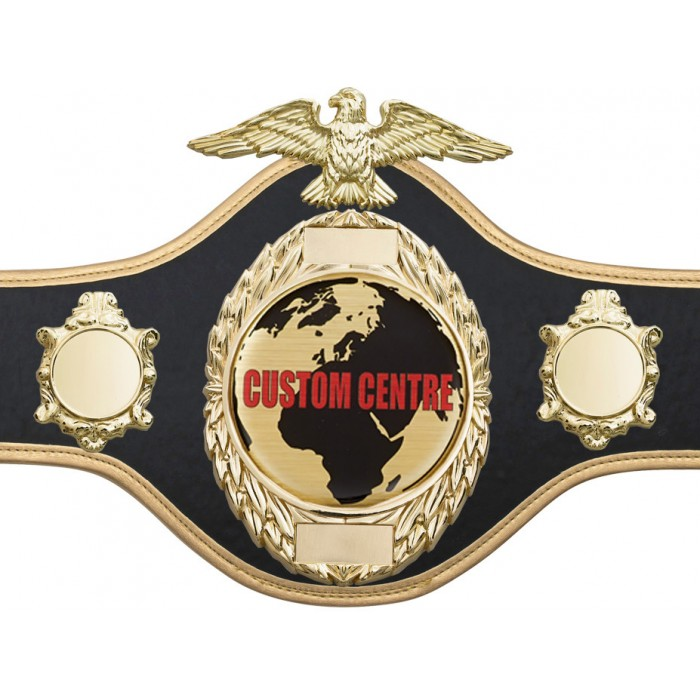 CUSTOM CHAMPIONSHIP BELT PRO288/G/CUSTOM - AVAILABLE IN 4 COLOURS