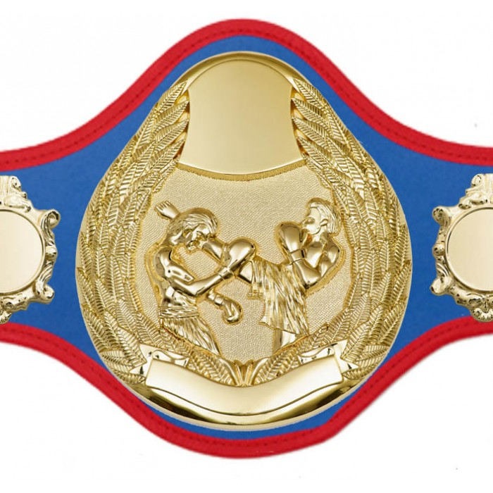 THAI BOXING CHAMPIONSHIP BELT-PRO301/G/TBOG- 10 + COLOURS