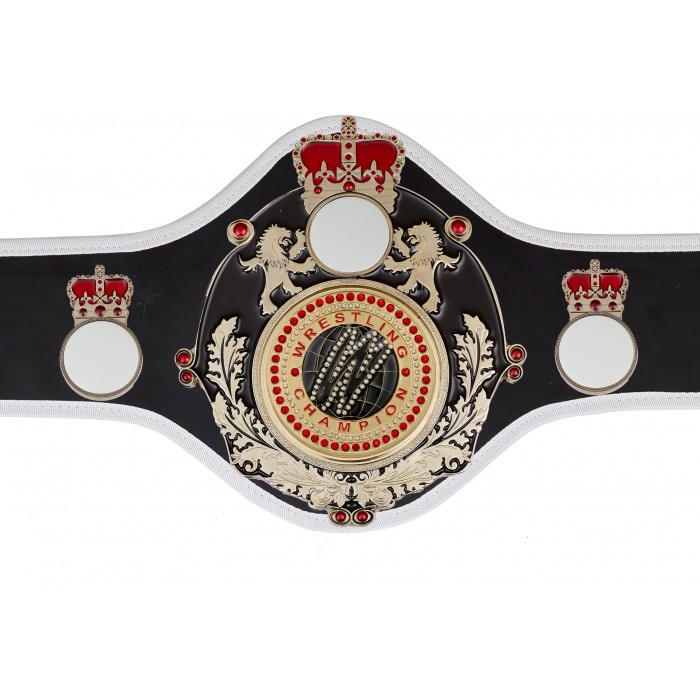 WRESTLING CHAMPIONSHIP BELT-QUEEN/B/S/WRESGEMS-10+ COLOURS