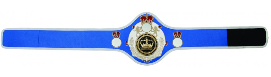 CHAMPIONSHIP BELT QUEEN/W/S/BLKGEM - AVAILABLE IN 10+ COLOURS
