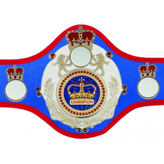 CHAMPIONSHIP BELT QUEEN/W/S/BLUGEM - AVAILABLE IN 10+ COLOURS