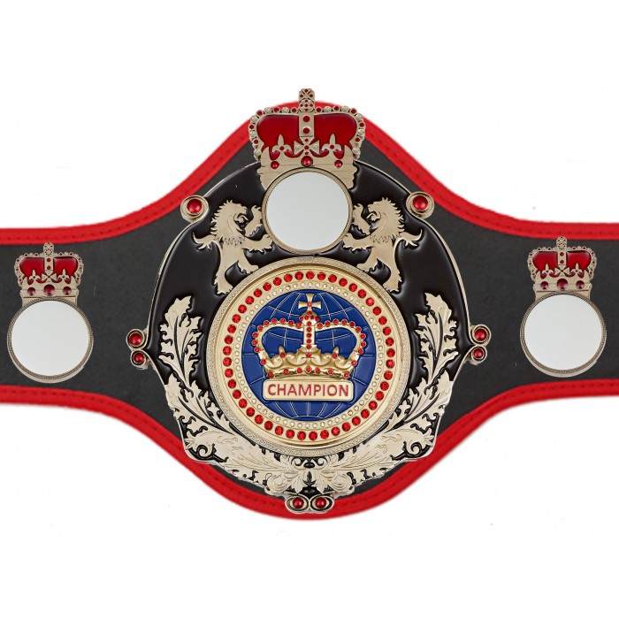 CHAMPIONSHIP BELT QUEEN/B/S/BLUGEM - AVAILABLE IN 10+ COLOURS