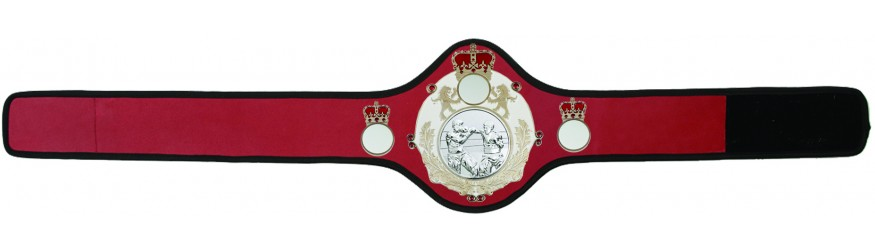 BOXING CHAMPIONSHIP BELT-QUEEN/W/S/BOXS-10+ COLOURS