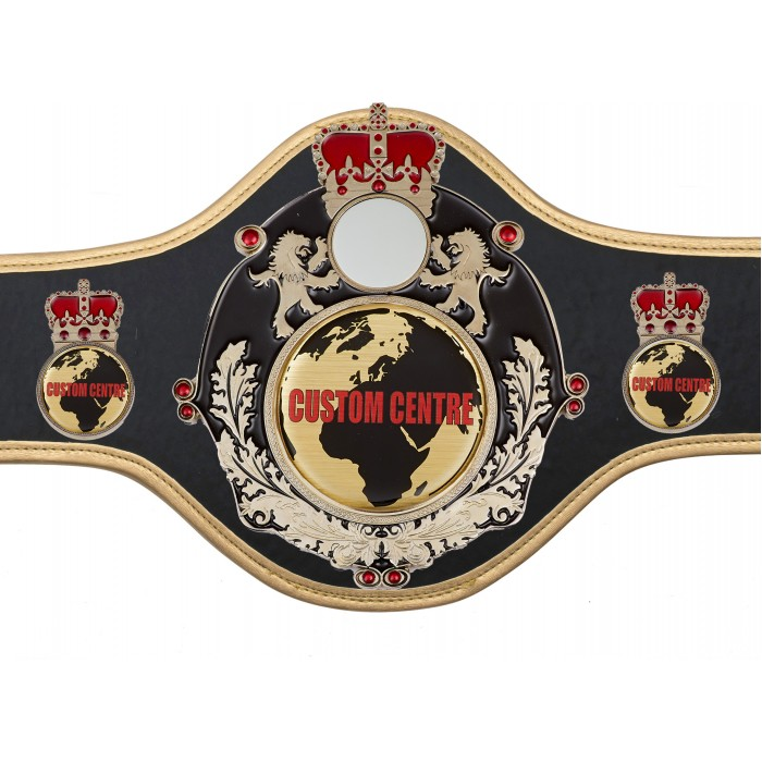 CUSTOM TITLE BELT QUEEN/B/S/CUSTOM - AVAILABLE IN 10 COLOURS
