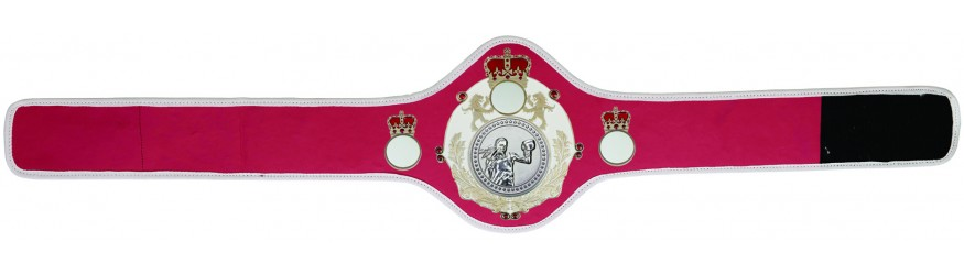 WOMEN'S BOXING CHAMPIONSHIP BELT-QUEEN/W/S/FEMBOXS-10+ COLOURS