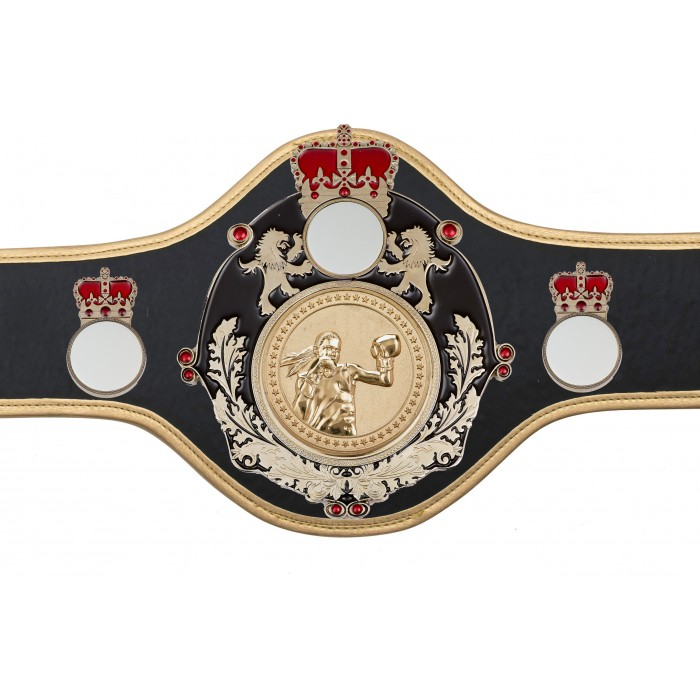 BOXING CHAMPIONSHIP BELT-QUEEN/B/S/FEMBOXG-10+ COLOURS
