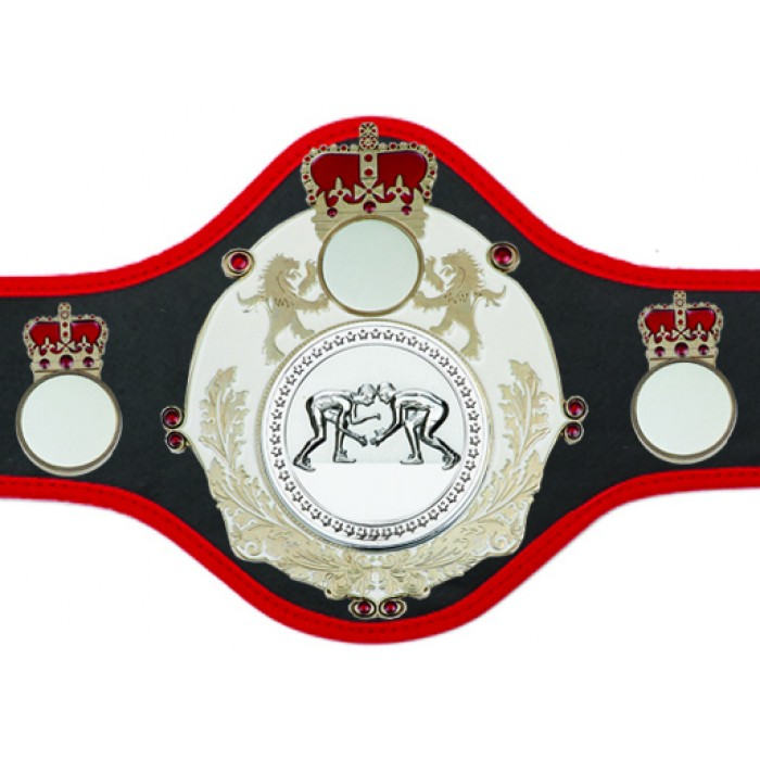 GRAPPLING CHAMPIONSHIP BELT-QUEEN/W/S/GRAPS-10+ COLOURS
