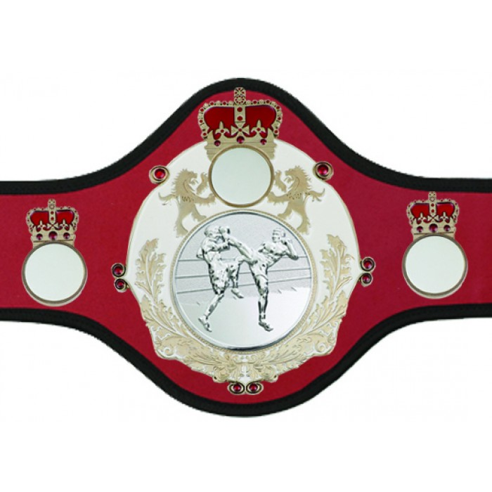 THAI BOXING CHAMPIONSHIP BELT-QUEEN/W/S/TBOS-10+ COLOURS