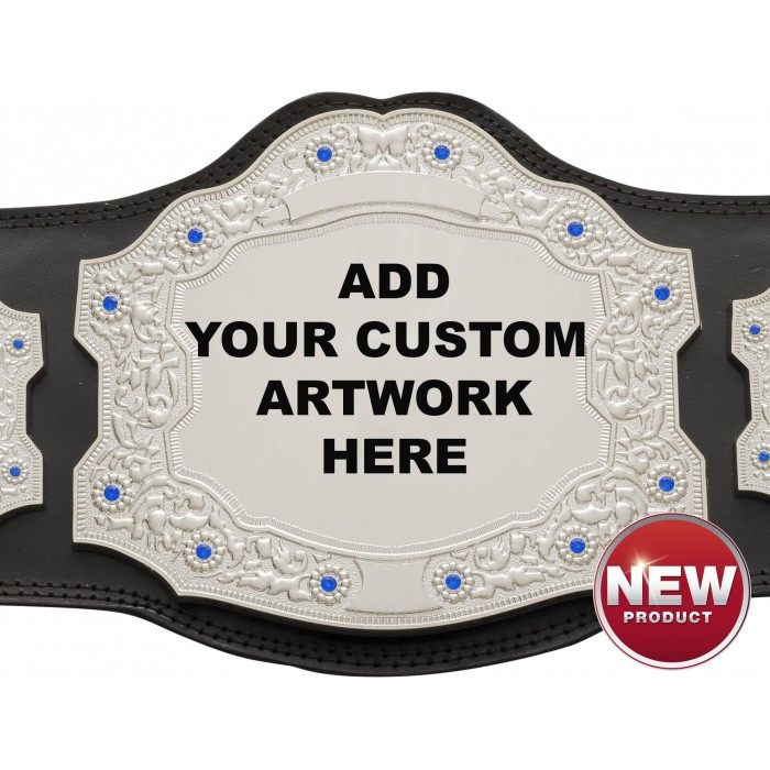 XXL SILVER CHAMPIONSHIP BELT - SPECIAL OFFER PRICE ***LIMITED TIME OFFER***