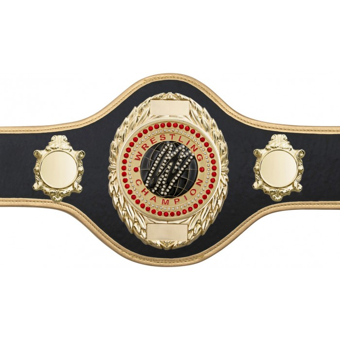 WRESTLING CHAMPIONSHIP BELT-PRO286/G/WRESTGEMG-10+ COLOURS