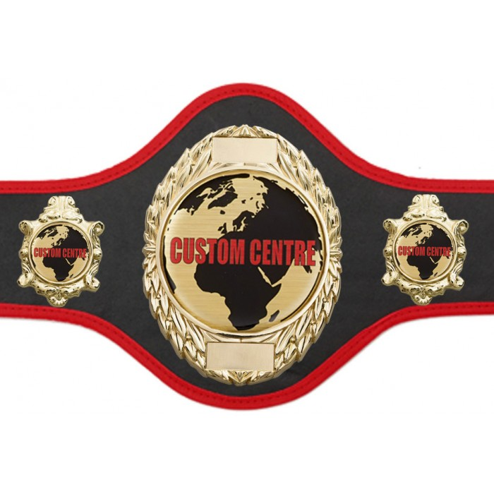 CUSTOM CHAMPIONSHIP BELT PRO286/G/CUSTOM - AVAILABLE IN 10 COLOURS