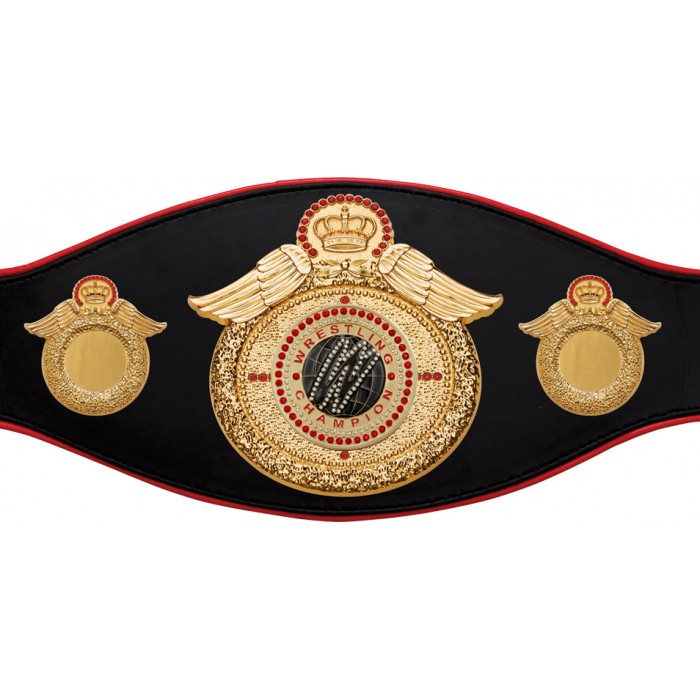 WRESTLING CHAMPIONSHIP BELT-PROWING/G/WRESTGEMG-6+ COLOURS