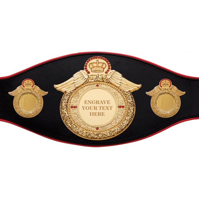 CHAMPIONSHIP BELT PROWING/G/ENGRAVE - AVAILABLE IN 6+ COLOURS