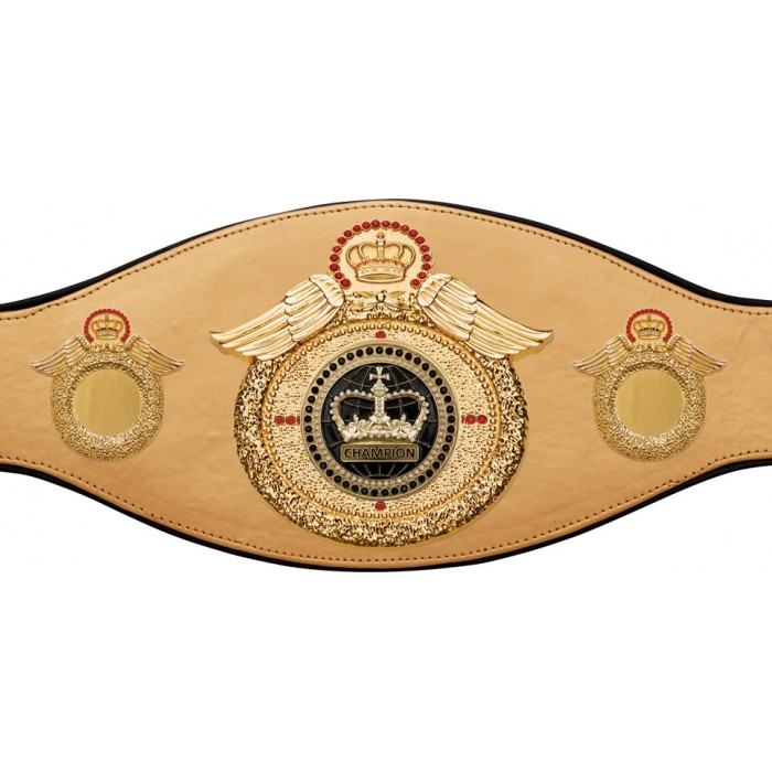 CHAMPIONSHIP BELT PROWING/G/BLKGEM - AVAILABLE IN 6+ COLOURS