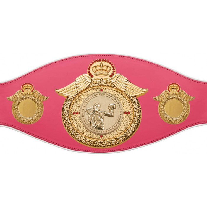 FEMALE BOXING CHAMPIONSHIP BELT-PROWING/G/FEMBOXG-6+ COLOURS