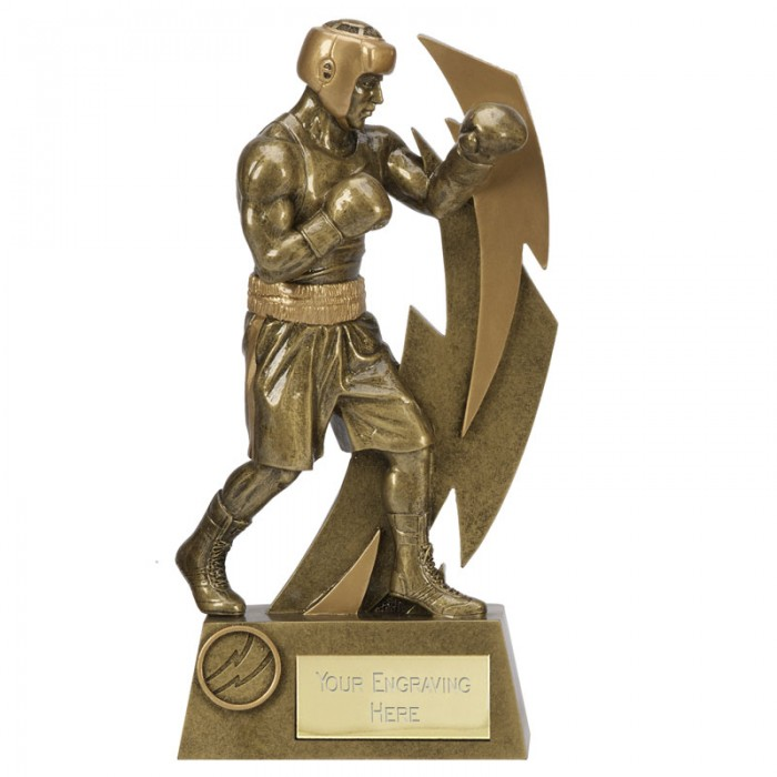 BOXING FIGURE RESIN TROPHY 3 SIZES STARTING FROM 6.5''