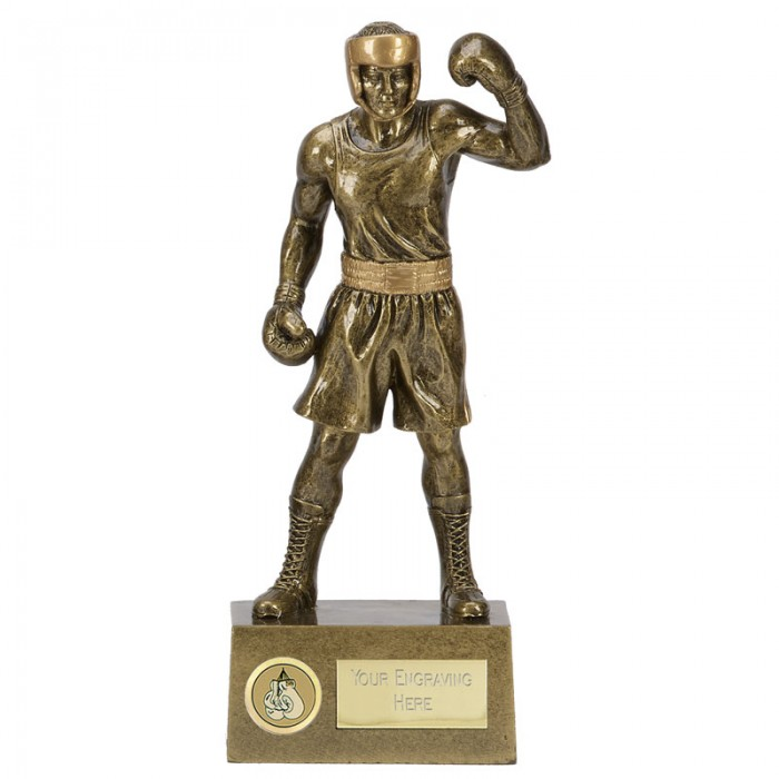 BOXING FIGURE RESIN TROPHY 2 SIZES STARTING FROM 8.5''