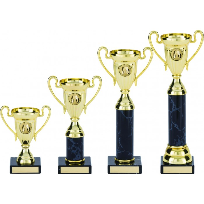 HANDLED CUP PLASTIC TROPHY - BOXING TROPHY - 4 SIZES