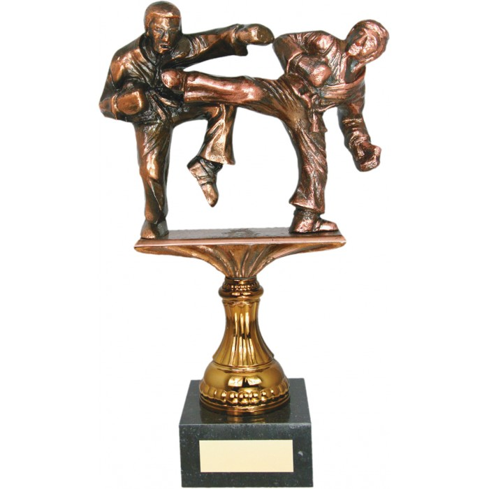14'' METAL CAST, HAND-MADE AWARD - LOW SIDE KICK