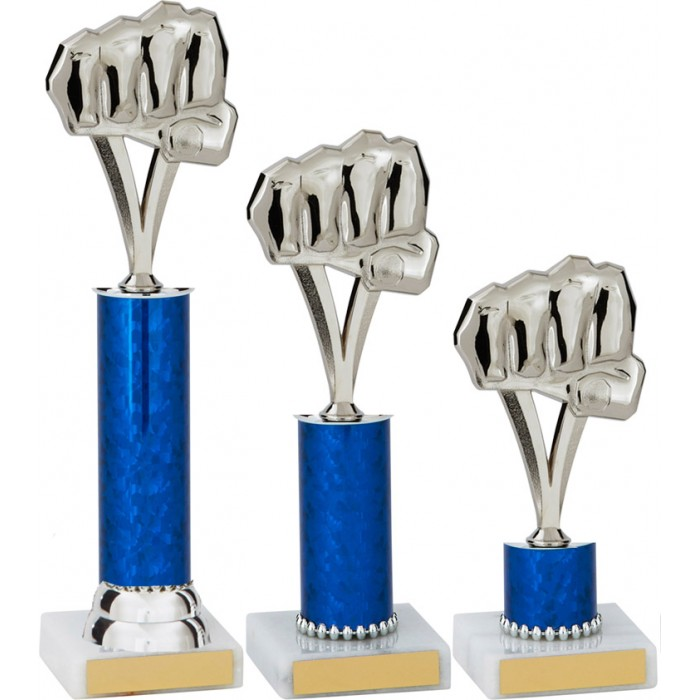 FIST METAL TROPHY  - AVAILABLE IN 3 SIZES