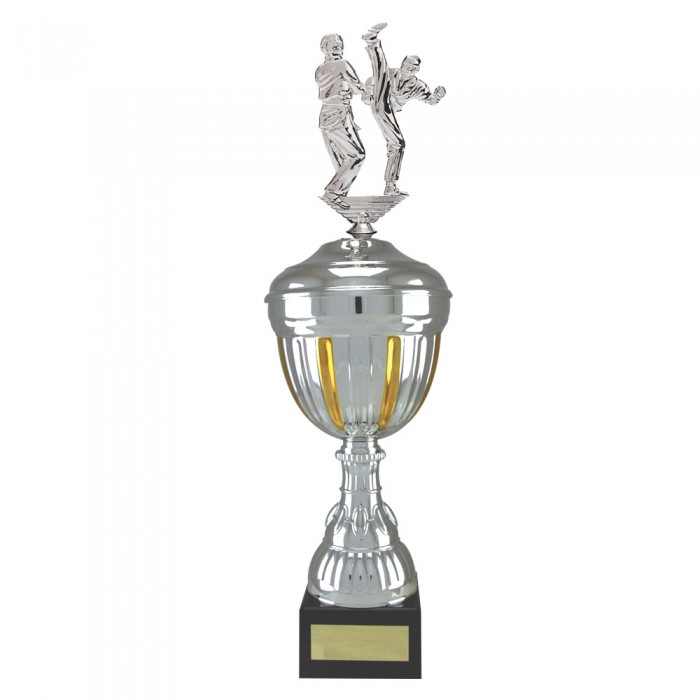 AXE KICK METAL TROPHY  - AVAILABLE IN 4 SIZES