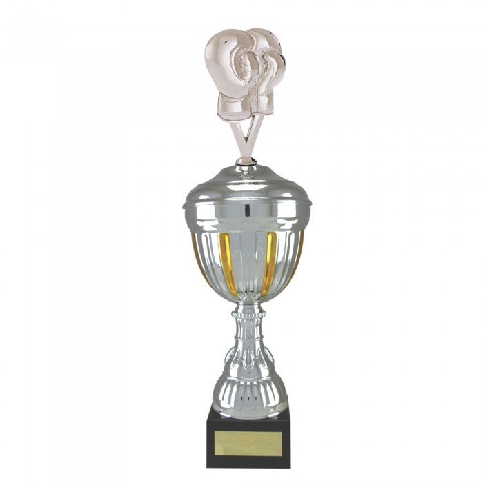 BOXING GLOVE METAL TROPHY  - AVAILABLE IN 4 SIZES