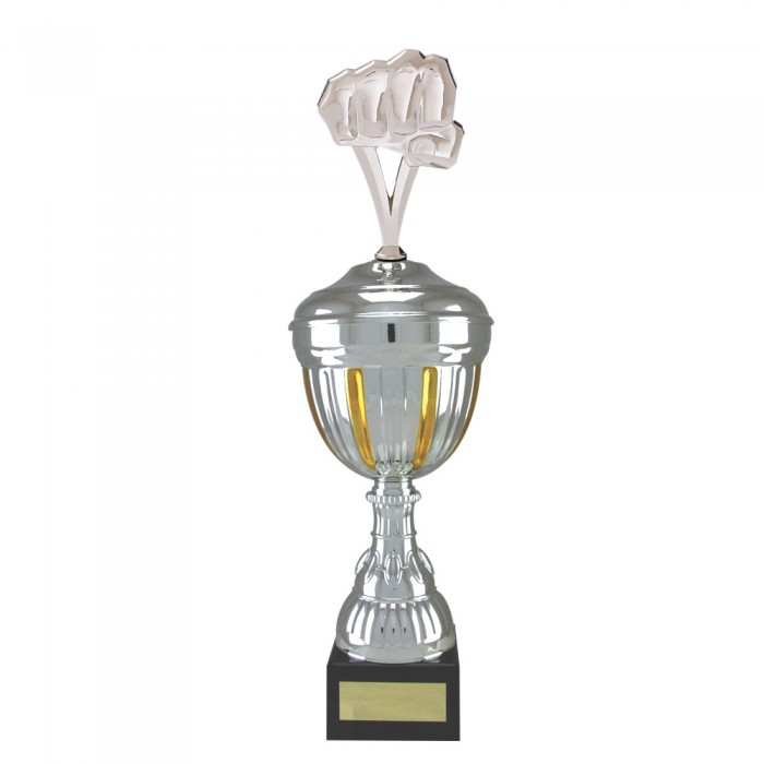 FIST METAL TROPHY  - AVAILABLE IN 4 SIZES