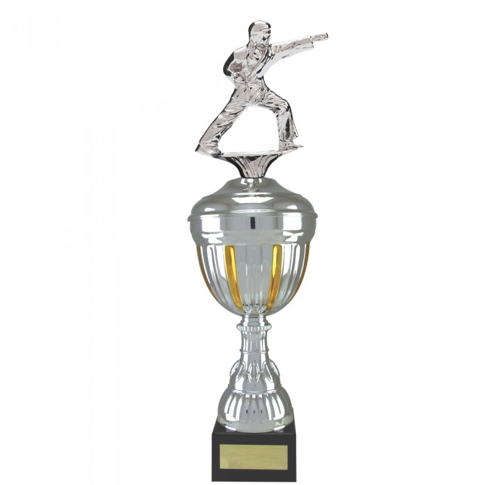 PUNCH FIGURE METAL TROPHY  - AVAILABLE IN 4 SIZES