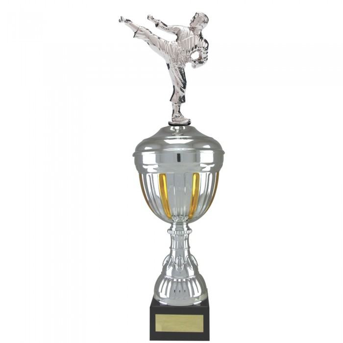 SIDE KICK FIGURE METAL TROPHY  - AVAILABLE IN 4 SIZES