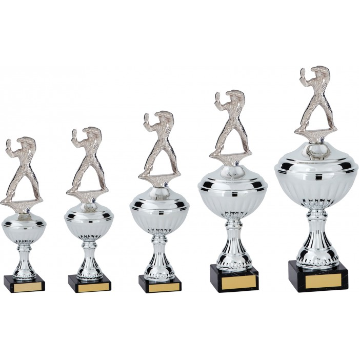 KATA & PATTERNS METAL TROPHY  - AVAILABLE IN 5 SIZES