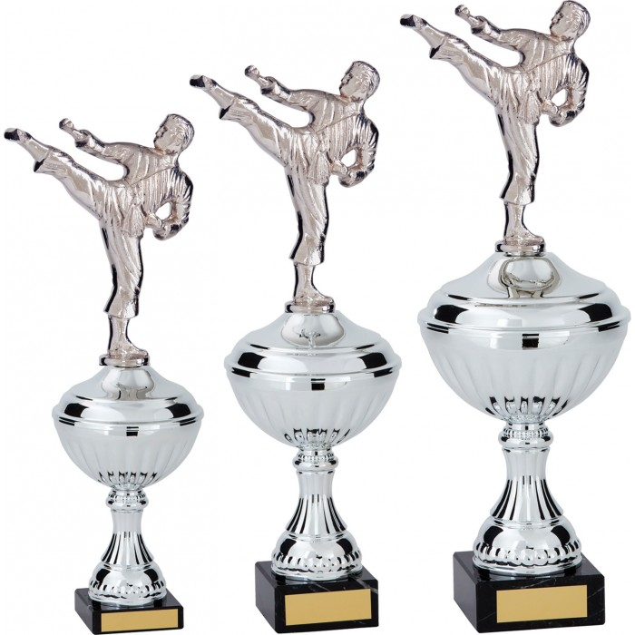 SIDE KICK METAL TROPHY  - AVAILABLE IN 3 SIZES