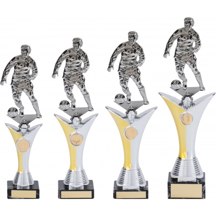 V-RISER FOOTBALL TROPHY - AVAILABLE IN 4 SIZES