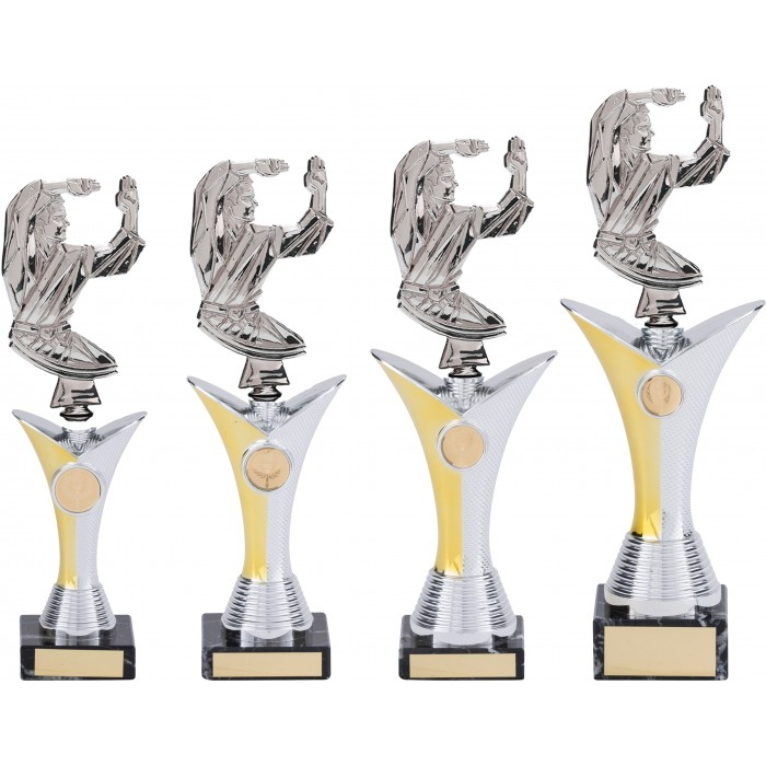 KARATE TROPHY - AVAILABLE IN 4 SIZES