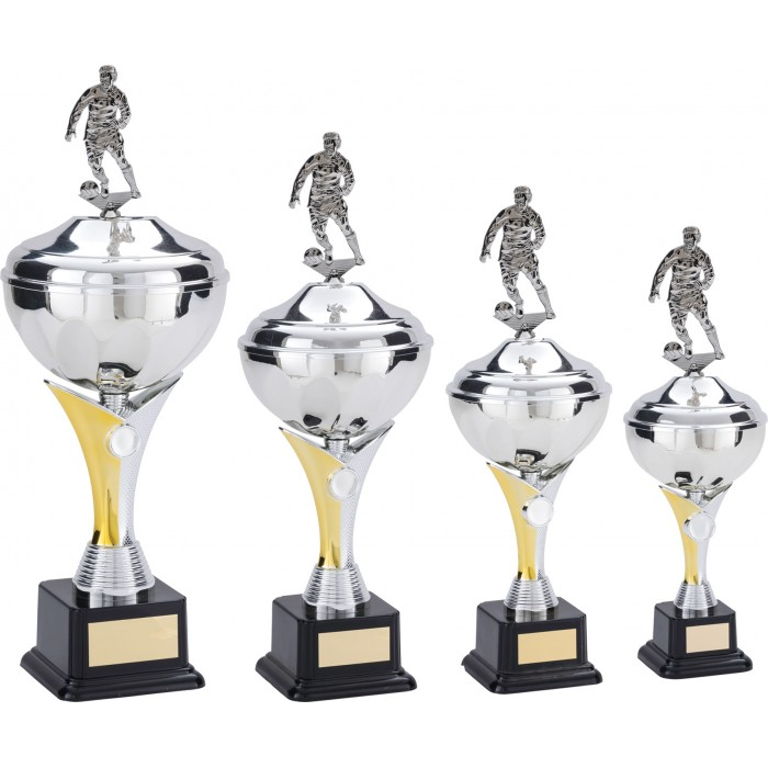 V-RISER FOOTBALL TROPHY CUP- AVAILABLE IN 4 SIZES