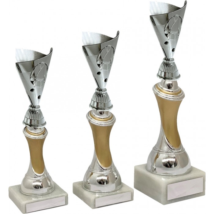 MARTIAL ARTS  TROPHY - 3 SIZES