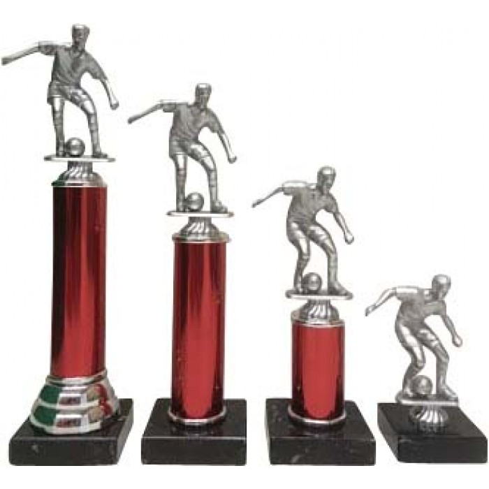 LOW COST PLASTIC FOOTBALL TROPHY - 4 SIZES