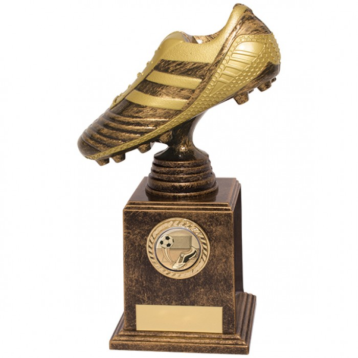 Golden Boot Striker Football Trophy