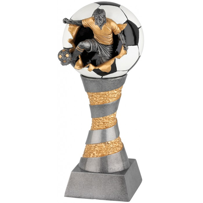 "FOOTBALL RESIN TROPHY - 6 SIZES - 8.5"" to 14''"