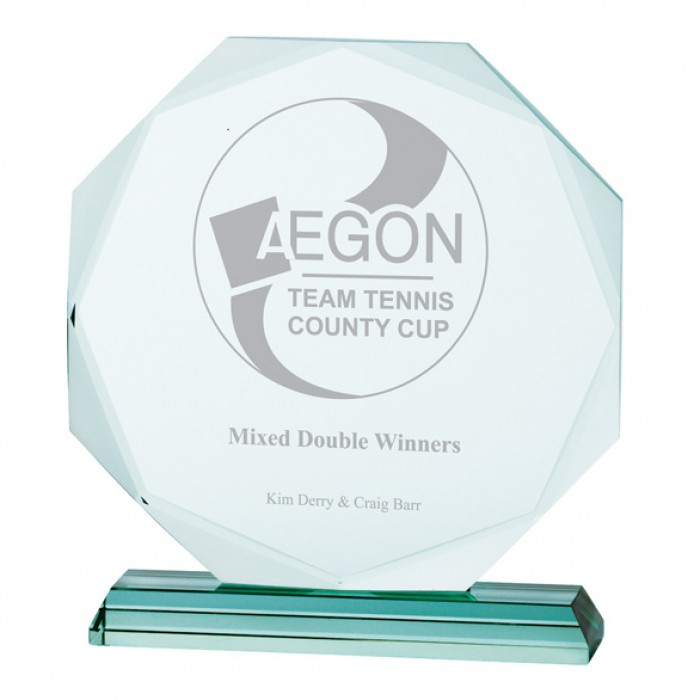ASPIRE JADE GLASS AWARD - 225MM