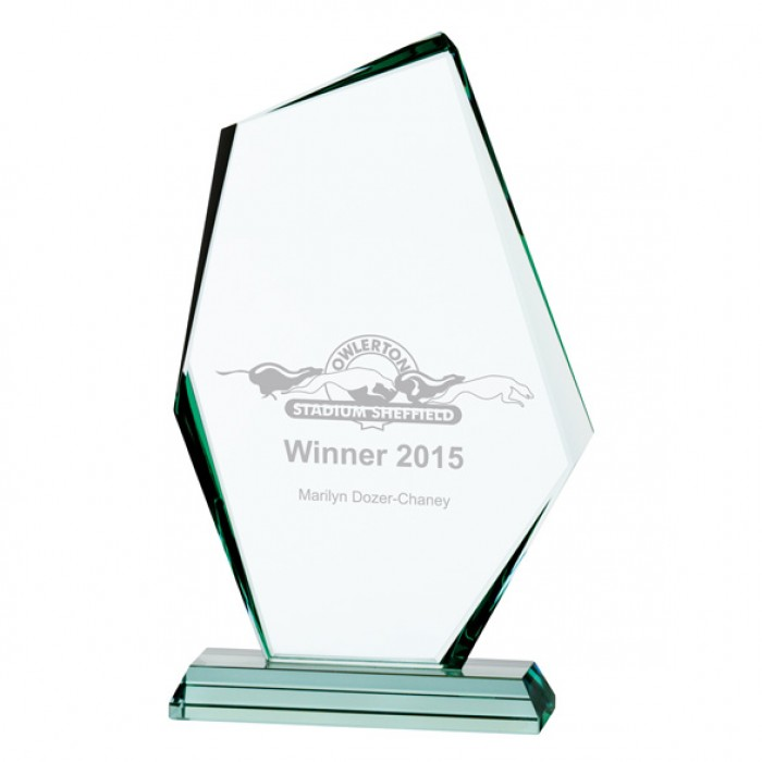 DISCOVERY JADE GLASS AWARD - 280MM