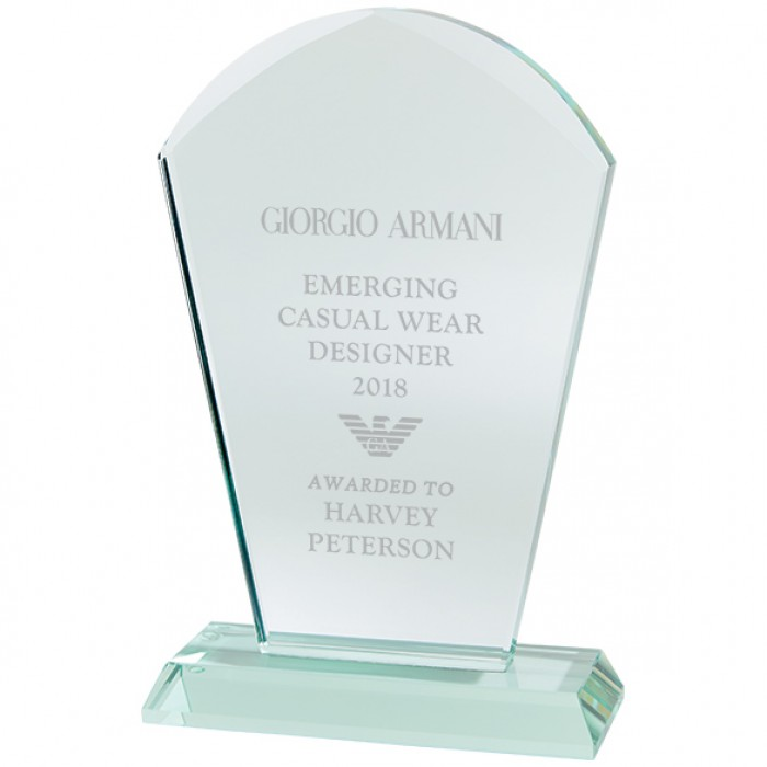 EXPLORER JADE GLASS AWARD - 170MM