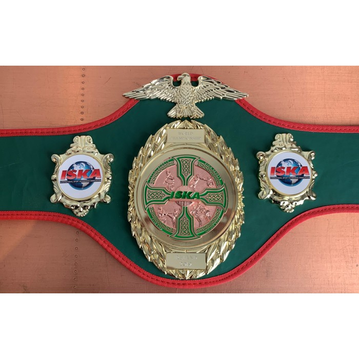 ISKA 2019 WORLDS CHAMPIONSHIP BELT - LIMITED EDITION