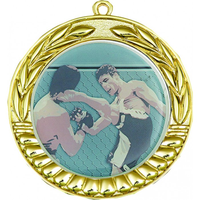 GOLD 70MM MMA MEDAL