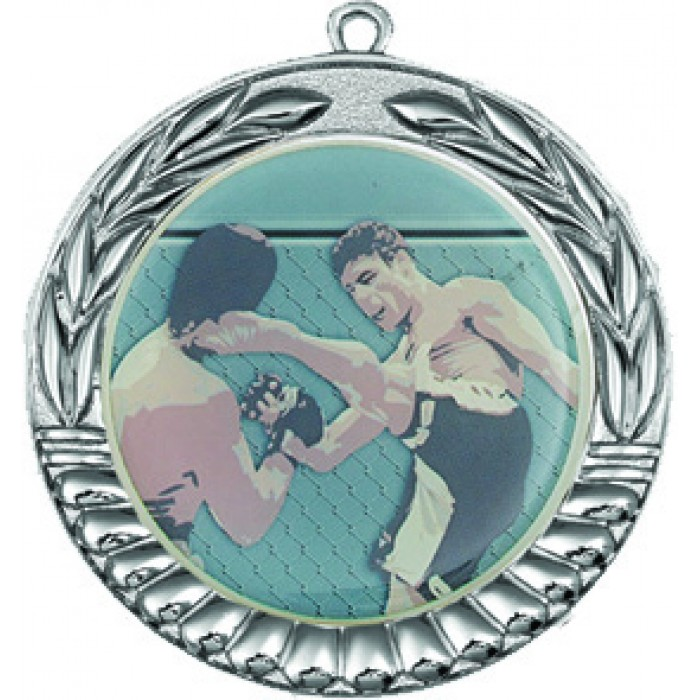SILVER 70MM MMA MEDAL
