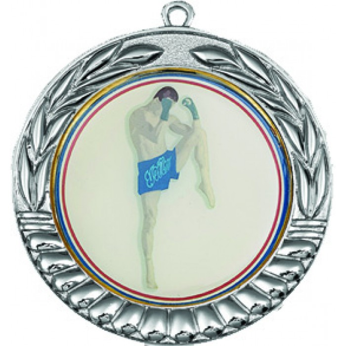 70MM X 2MM THAI BOXING MEDAL