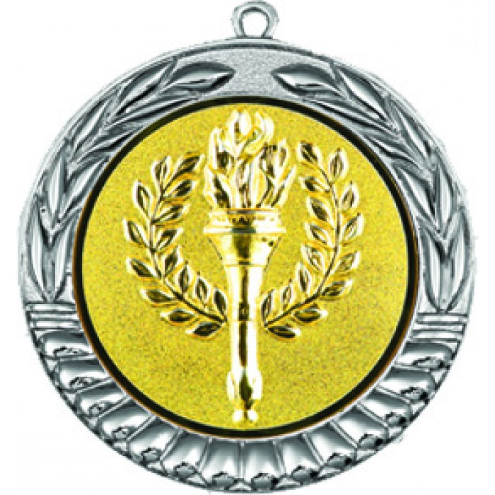 VICTORY MEDAL - CHOOSE YOUR OWN CENTRE 70MM X 2MM  - SILVER