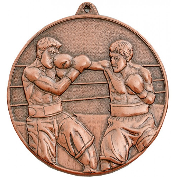 BRONZE 70MM BOXING MEDAL