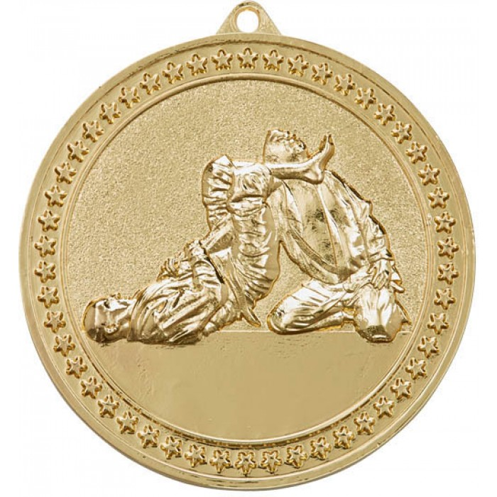 70MM GOLD JUDO MEDAL